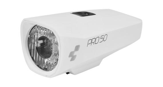 Cube Pro 50 - Luces para bicicleta - blanco